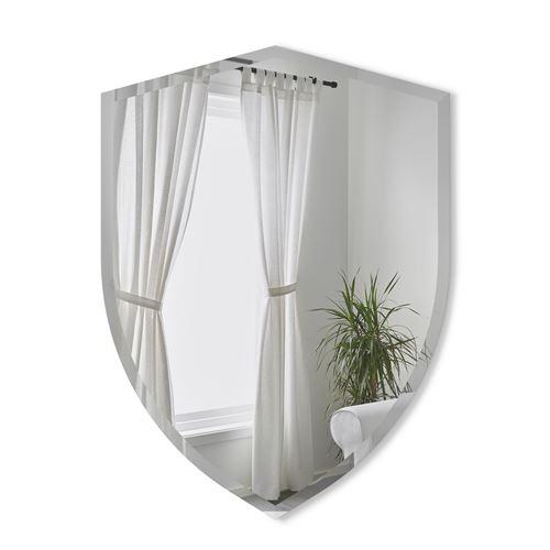 Miroir mural forme écusson verre UMBRA Verre Transparent