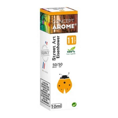 Conceptarôme - E-liquide Mixte Prenium – Eisenhower 11 mg.