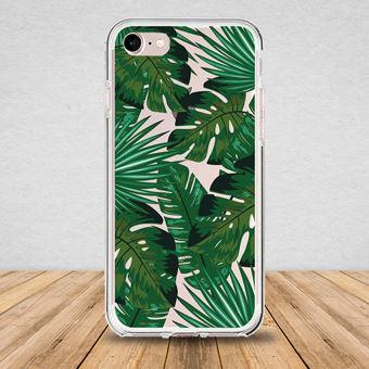 Coque Iphone 7 / 8 bump Feuilles tropical