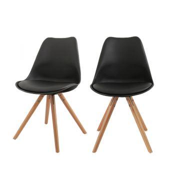 Lot De 2 Chaises Design Ormond Round