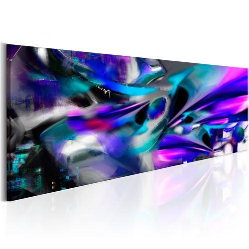 Tableau | Tempête de cobalt | 150x50 | XL | Abstraction | Multicolores | |