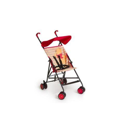Winnie Lourson Poussette Canne Sun Plus Brights Red - Disney Baby