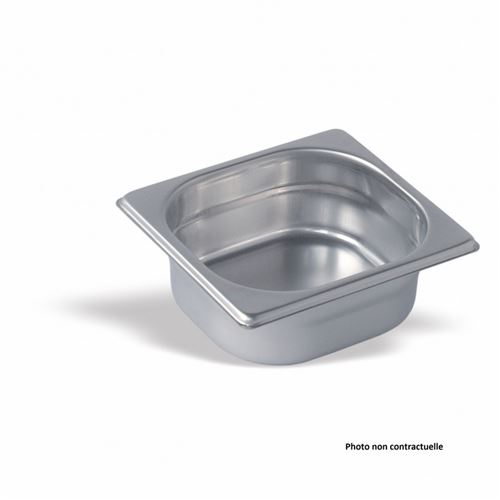 Bac Gastro Inox GN 1/6 - H 100 mm - Pujadas - Inox160 cl