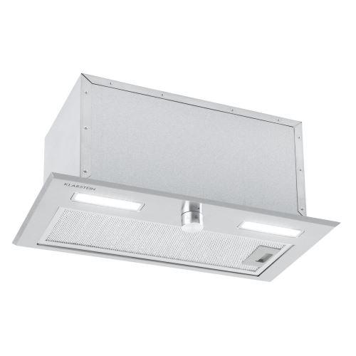 Klarstein Simplica Hotte aspirante encastrable 52 cm - Extraction 400 m³ / h - Inox argent