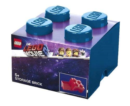 LEGO boîte de rangement The Lego Movie 4-blocs bleu 25 cm