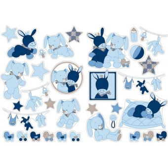 Stickers Decoratifs Nattou Alex Et Bibou Decors Et Stickers