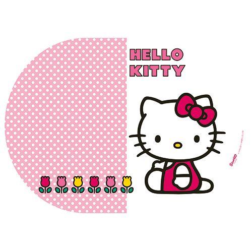 Petit Set de table Ovale Hello Kitty