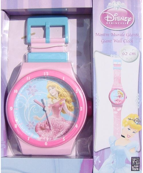 Pendule Horloge Princesse Disney Palace Pets Decoration Chambre