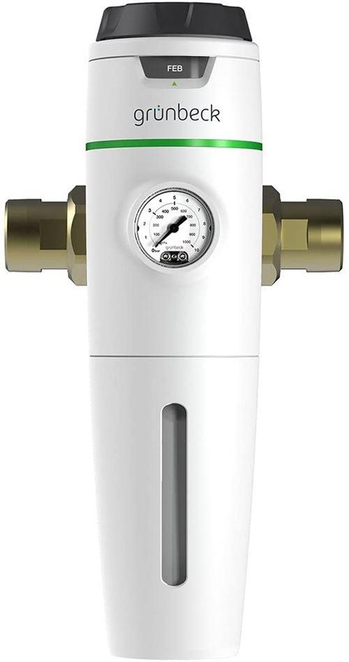 Grünbeck 101290 Filtre fin PureliQ : KD32 (filtration de l'eau potable, protection des conduits d'eau, DN 32, 100 μm, PN 16)