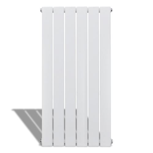 Radiateur chauffage panneau blanc hauteur 90 cm largeur 46,5 cm pratique design moderne et élégant