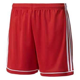 640c21baa79cf2 Short femme adidas Squadra13 Rouge - Shorts et bermuda de sport ...