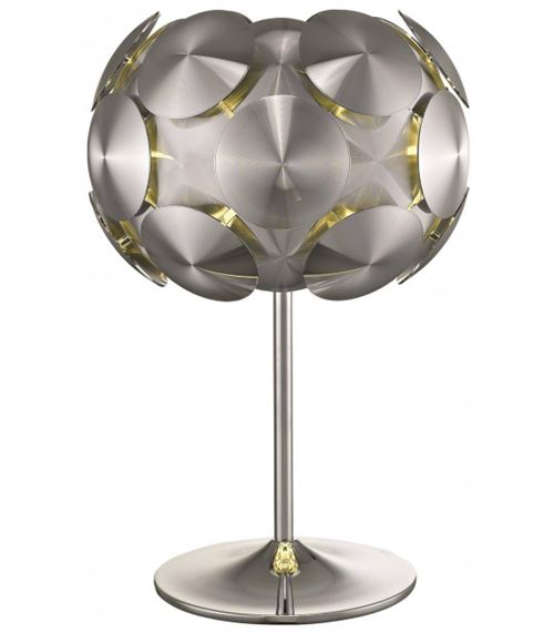 Lampe de table Chrome CHESTER 1 Lumières