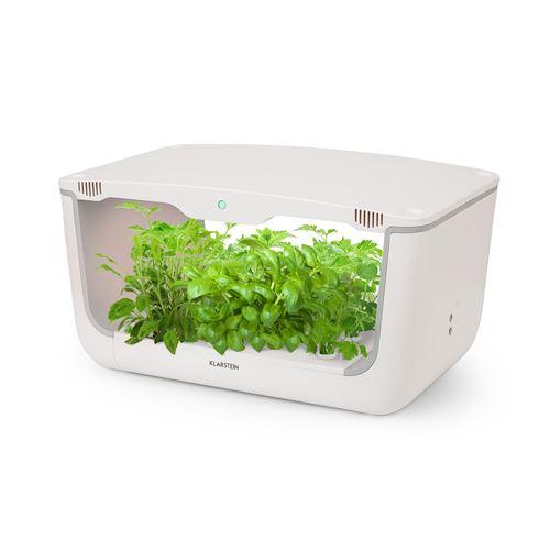 Klarstein GrowIt Farm Smart Jardin hydroponique 28 plantes avec lampe de croissance LED / 48W - réservoir 8 litres