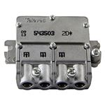 Televés F3155435 Satellite Splitter Connecteur F 4.4 Db / 5-2400 Mhz - 2 sorties