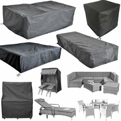 Bc-elec - HMRC-11 Housse de protection pour tables et meubles de jardin, Oxford 210D + traitement UV, 195x195x67cm