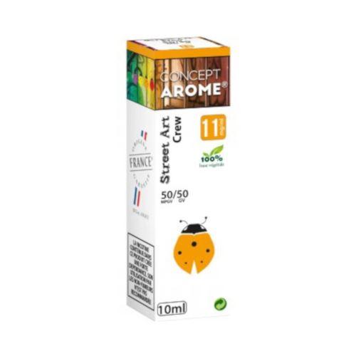 Conceptarôme - E-liquide Mixte Prenium – Crew 11 mg.