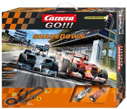 Circuit de voiture shakedown carrera go 62366