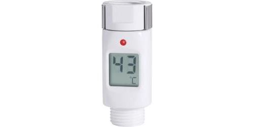 Thermomètre de douche Renkforce blanc
