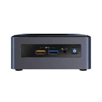 Intel Next Unit of Computing Kit NUC8I5BEH - Mini-PC - Core i5 8259U / 2.3 GHz - RAM 4 GB - HDD 1 TB - Iris Plus Graphics 655 - GigE - WLAN: 802.11a/b/g/n/ac, Bluetooth 5.0 - Win 10 Home 64 bits - monitor: geen