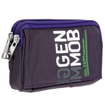 11e144fa38f5 Sacoche ceinture multipoches - Violet - Etui pour téléphone mobile - Achat    prix   fnac
