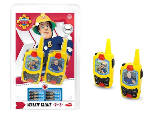 Dickie Toys Talkie Walkie Set Sam Le Pompier 203093002