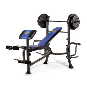 30 Sur Banc De Musculation Marcy Mwb 36780b Multipositions