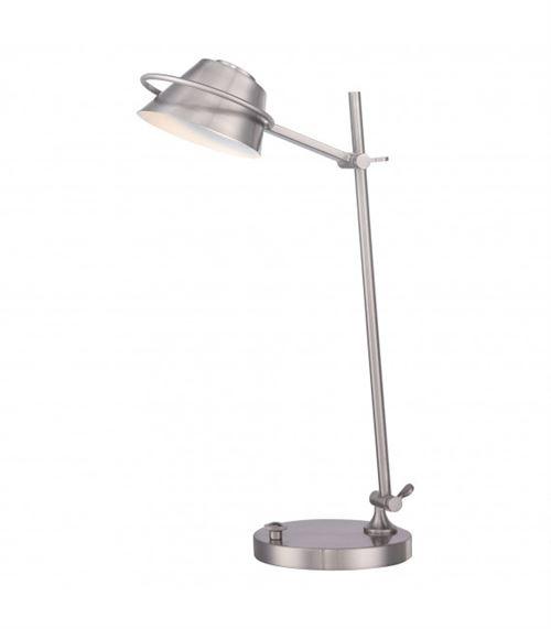 Lampe Spencer, nickel brossé