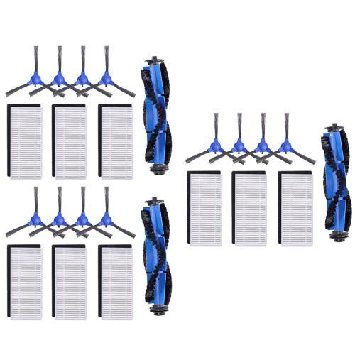 Filtres brosse brosses latérales Accessoires pour Eufy RoboVac Kit de remplacement 11S