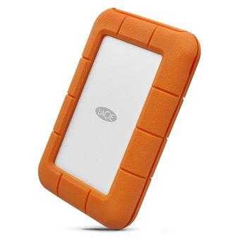 LaCie Rugged USB-C STFR5000800 - Vaste schijf - 5 TB - extern (draagbaar) - USB 3.1 Gen 1 (USB-C aansluiting) - met 2 jaar gegevensherstelabonnement