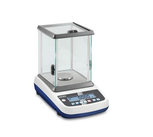 Kern - Balance de précision lecture 0,001 g portée max. 300 g plateau ∅ 80 mm avec grande chambre en verre - EWJ300-3H