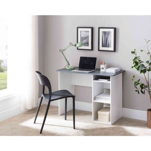 Bureau 2 niches en bois - BU4038