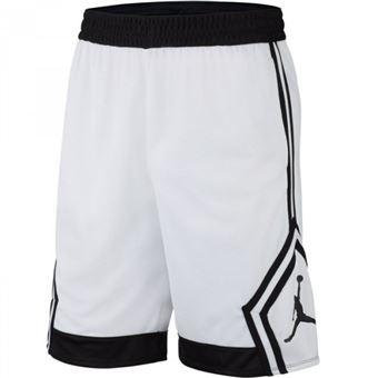 Short Jordan Rise Diamond Basketball Blanc Pour Hommes