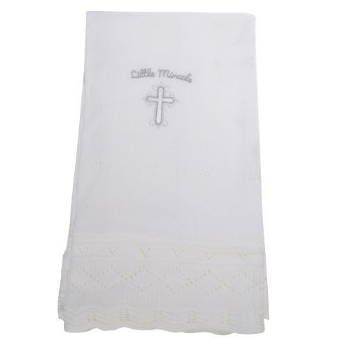 Snuggle Baby - Châle LITTLE MIRACLE CHRISTENING - Bébé (Taille unique) (Blanc) - UTBABY1535