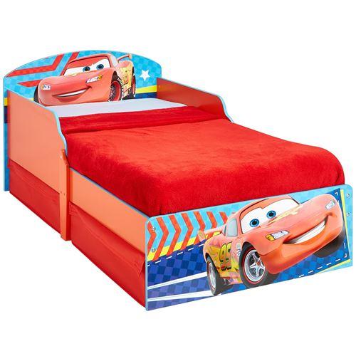 Lit enfant avec rangement Room Studio collection 'Disney Cars' - 70 x 140 cm