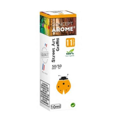 Conceptarôme - E-liquide Mixte Prenium – Graffiti 11 mg.