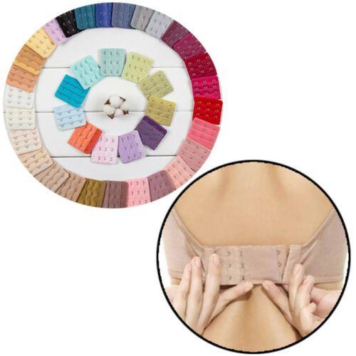 10PCS Extension de soutien-gorge pour femme Extension de sangle 3 crochets Soutien-gorge ensembles accessoires femmes