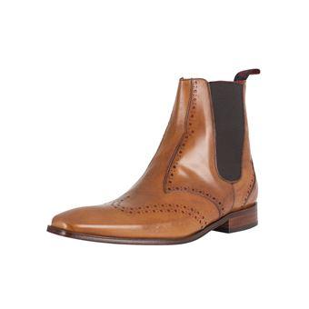 Scarface Marron Et Bottes Jeffery Chaussures De Homme West q4zPFz