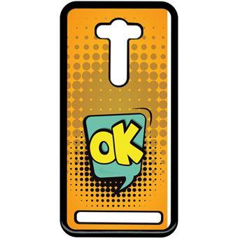 Coque Asus Zenfone Selfie Zd551kl Ok Fond Orange