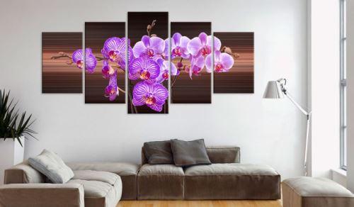 Tableau - Flower of joy .Taille : 200x100