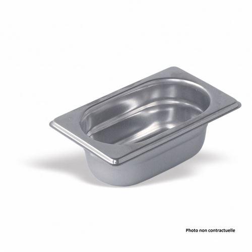 Bac Gastro Inox GN 1/9 - H 100 mm - Pujadas - Inox80 cl