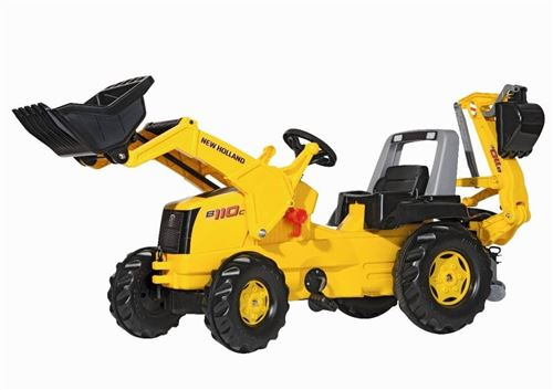 Rolly Toys Tracteur à pédales RollyJunior New jaune Pays - Bas