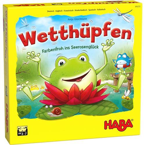 Haba jeu pour enfants (DUKikkersprongen)