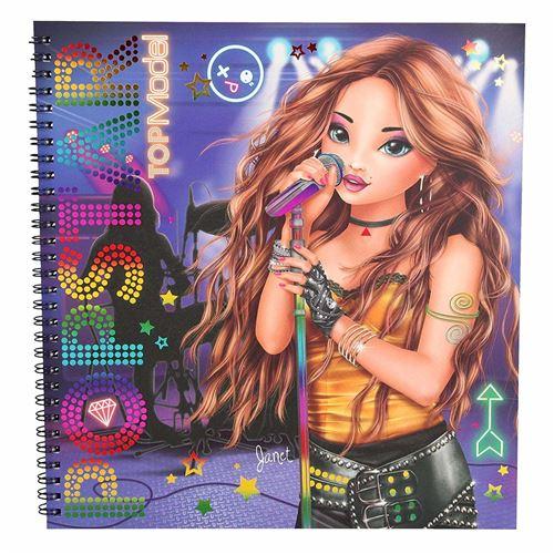 Depesche Topmodel Top Model Top Model Popstar Dessin A Colorier Livre A Colorier