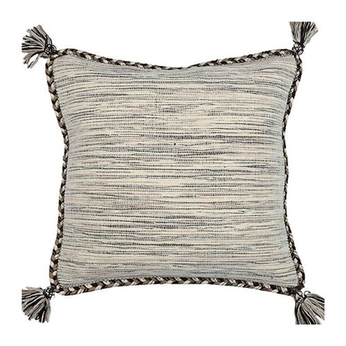 coussin sahara - 45 x 45 cm - blanc