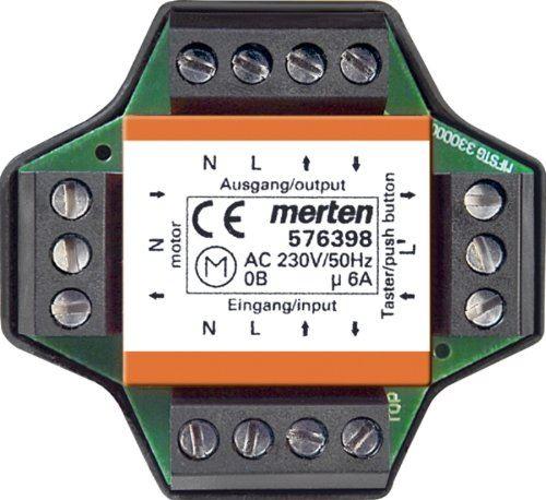 Merten 576398 Module relais multiple encastré pour volets roulants