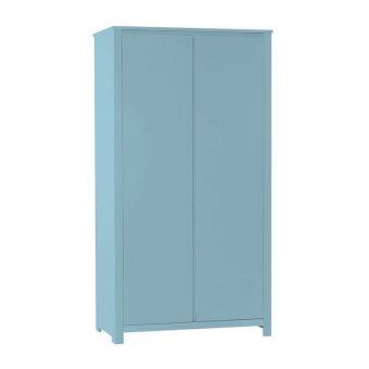 Armoire 2 portes Floride, Couleur: Bleu Pastel - Achat & prix | fnac