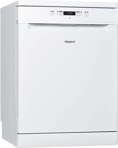 Whirlpool Supreme Clean WFC 3C24 - Lave-vaisselle - pose libre - largeur : 60 cm - profondeur : 59 cm - hauteur : 85 cm