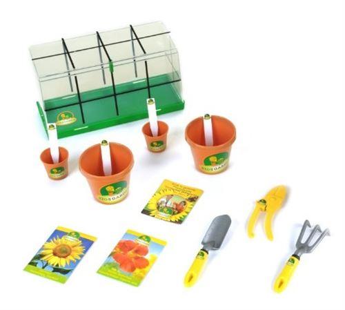 Serre de jardinage avec vraies semences/ jeux jouets