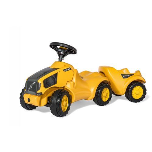 Rolly Toys 132560 RollyMinitrac Tracteur Volvo Contract + Remorque