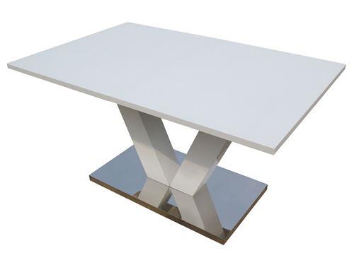 Extensible En Mdf Laqué Table Repas PrixFnac Achatamp; Blanc Lora lF3cJTK1